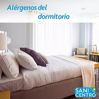 Alérgenos en el dormitorio SANICENTRO