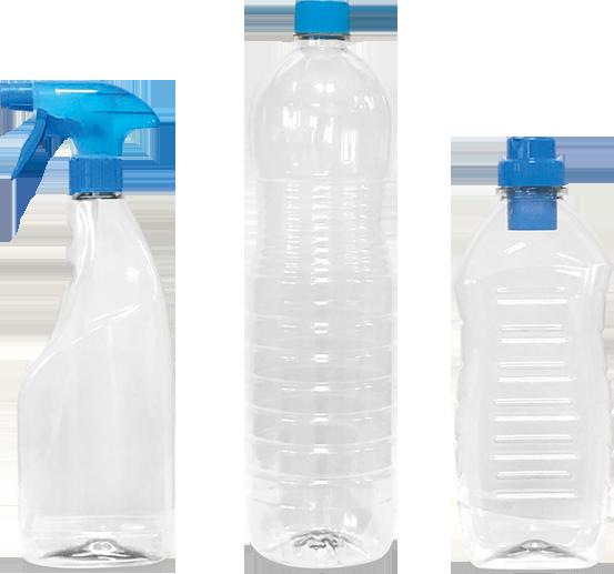Botellas eco