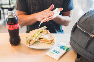 hogar saludable alimento alimentacion