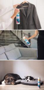 ropa y tejidos aerosol